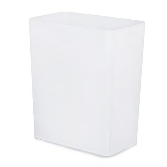 Thùng rác văn phòng JYSK nID nhựa PP trắng 20x31x37cm,20L