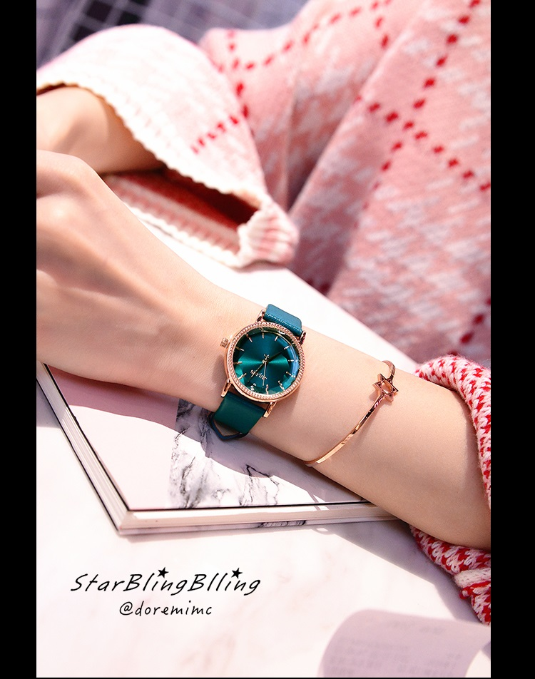 Combo Đồng hồ Nữ Julius Và Lắc tay Julius sang trọng