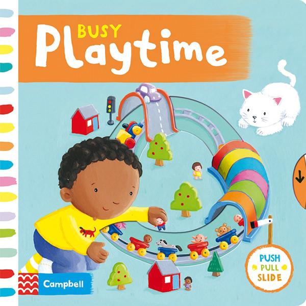 Cambell Fush Full Slide Series: Busy Playtime