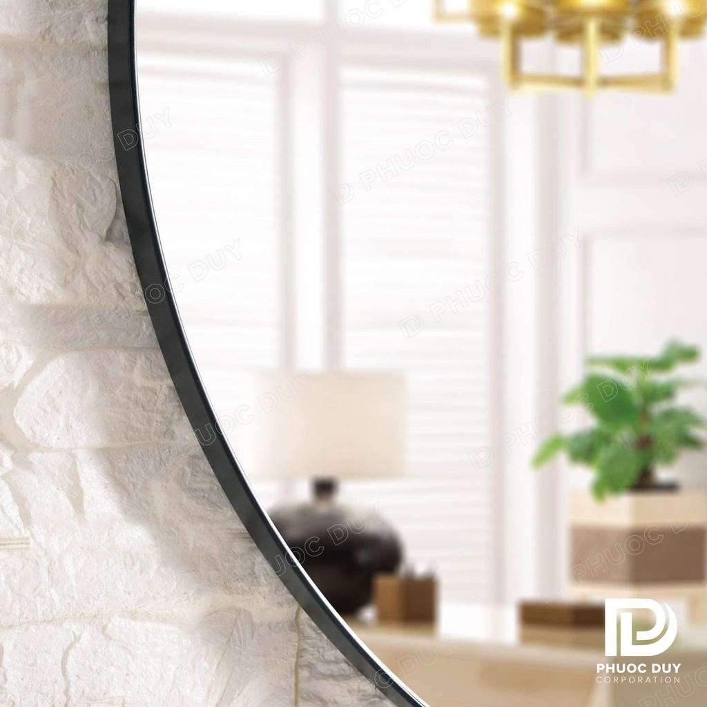 Gương tròn viền thép G8 - Sơn tĩnh điện