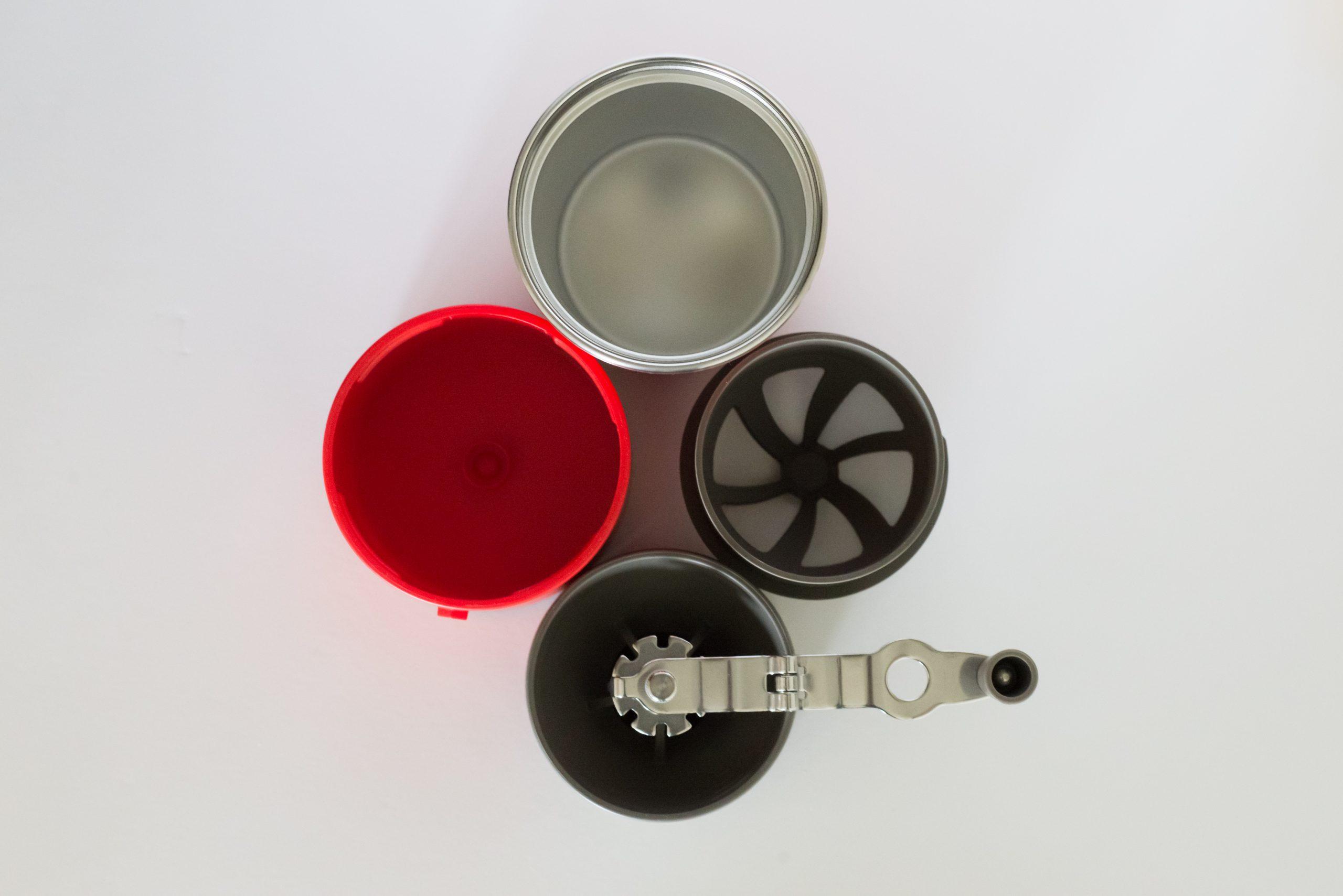 DỤNG CỤ CÀ PHÊ ĐA NĂNG CAFFLANO KLASSIC – ALL IN ONE – POUR OVER RED – KOREA