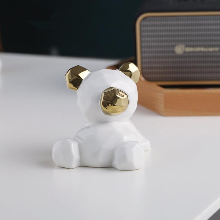 Tượng trang trí 2 chú Gấu teddy 3-D-D5-T4061