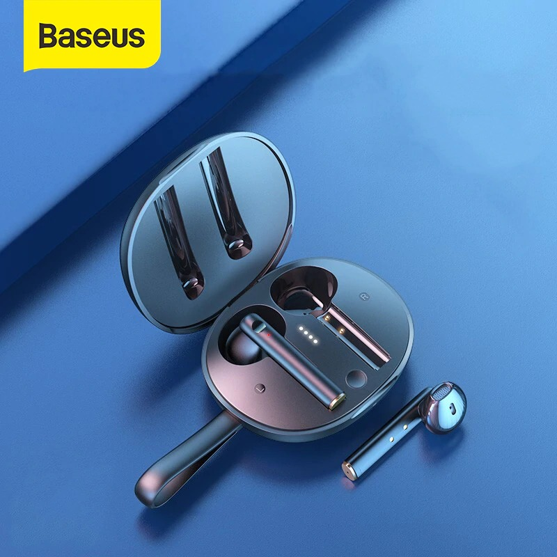 Tai nghe không dây Baseus W05 True Wireless Earphones - Hàng chính hãng