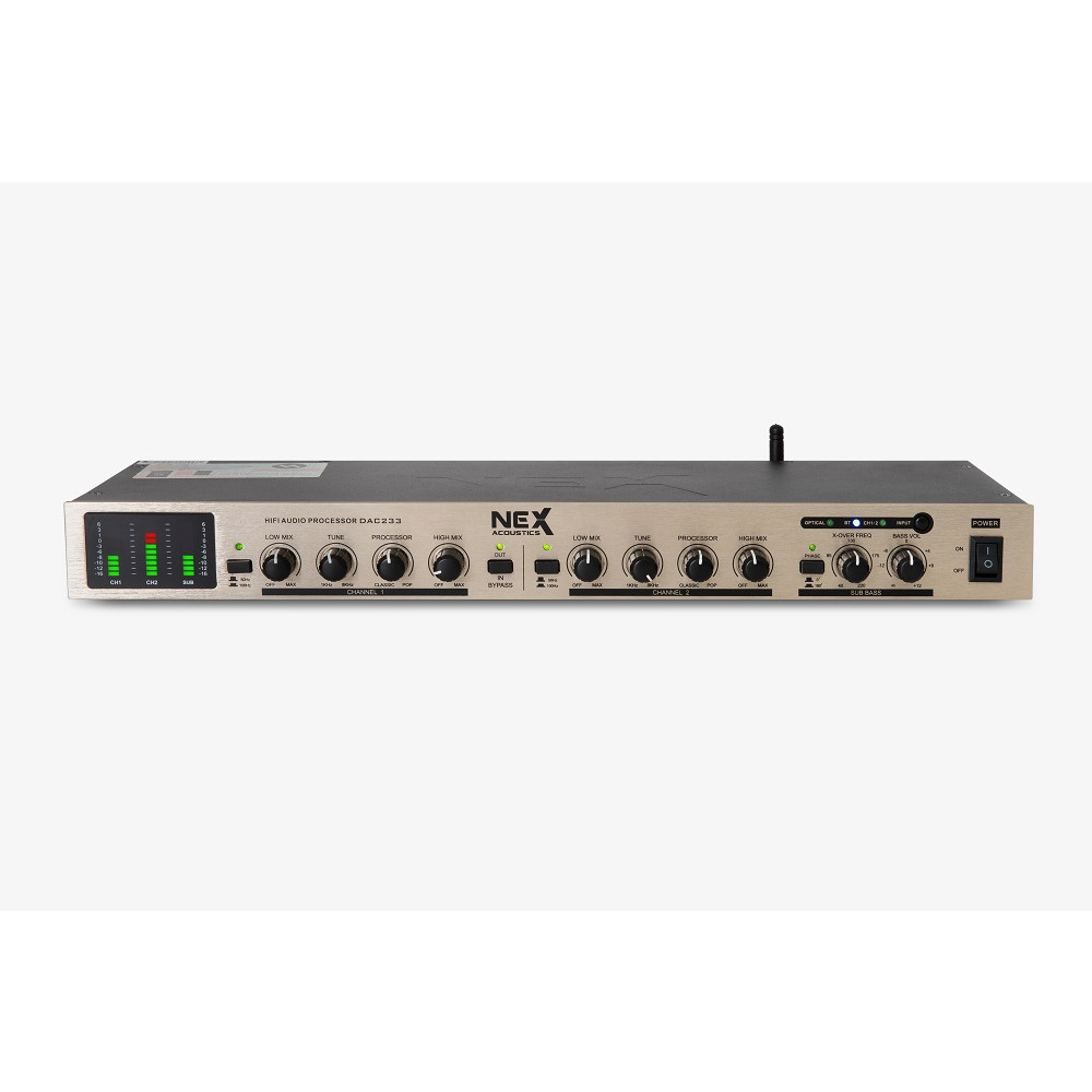 Bộ giải mã kèm nâng tiếng NEX DAC233 - Hàng Nhập Khẩu