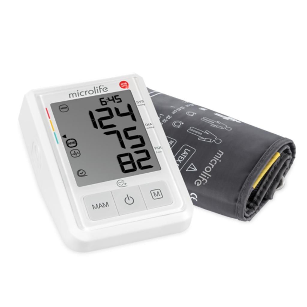 Máy đo huyết áp điện tử Microlife B3 AFIB Advanced, máy đo huyết áp cảnh báo đột quỵ model 2020