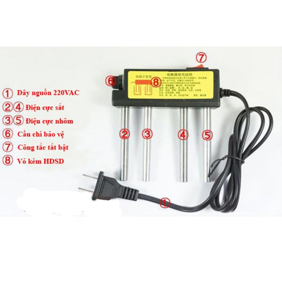Combo bút thức nước TDS và máy điện phân