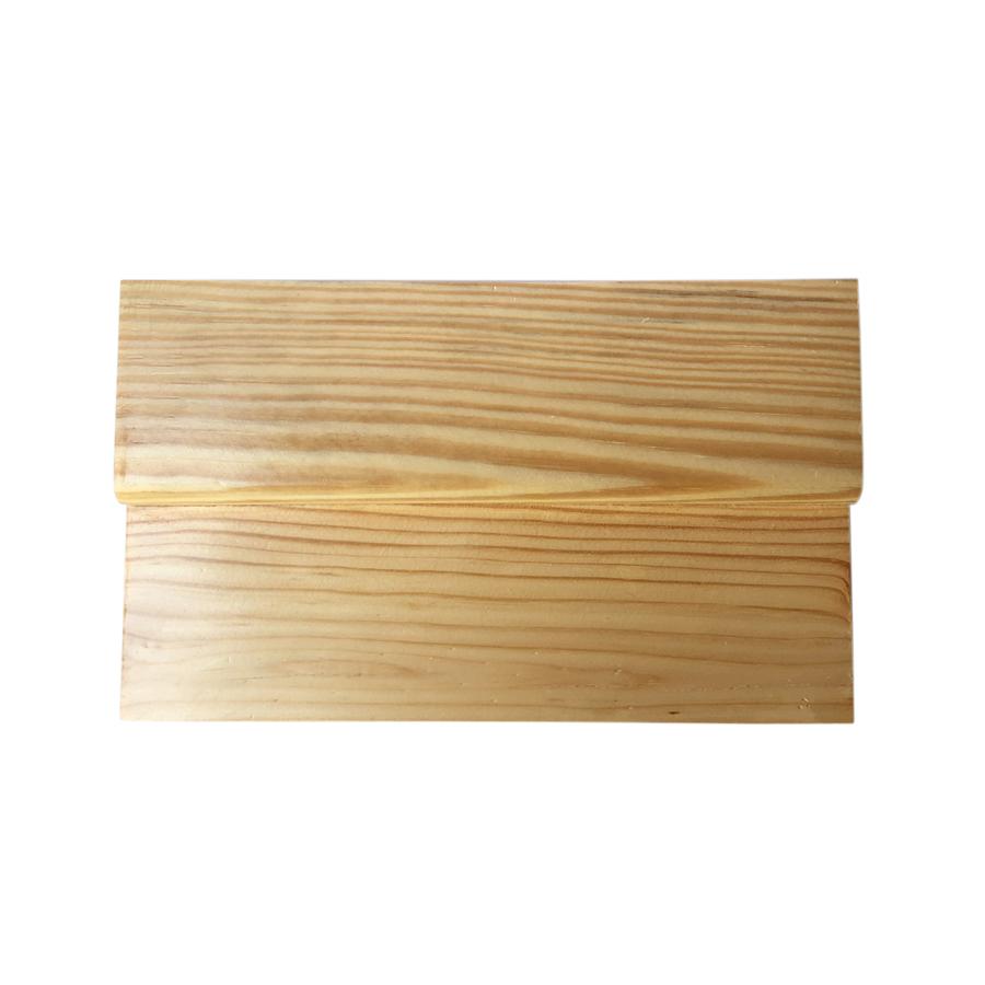 Thớt Gỗ Trang Trí Sushi - Sashimi Nhật Bản Size 25x15 cm - 2 Tầng