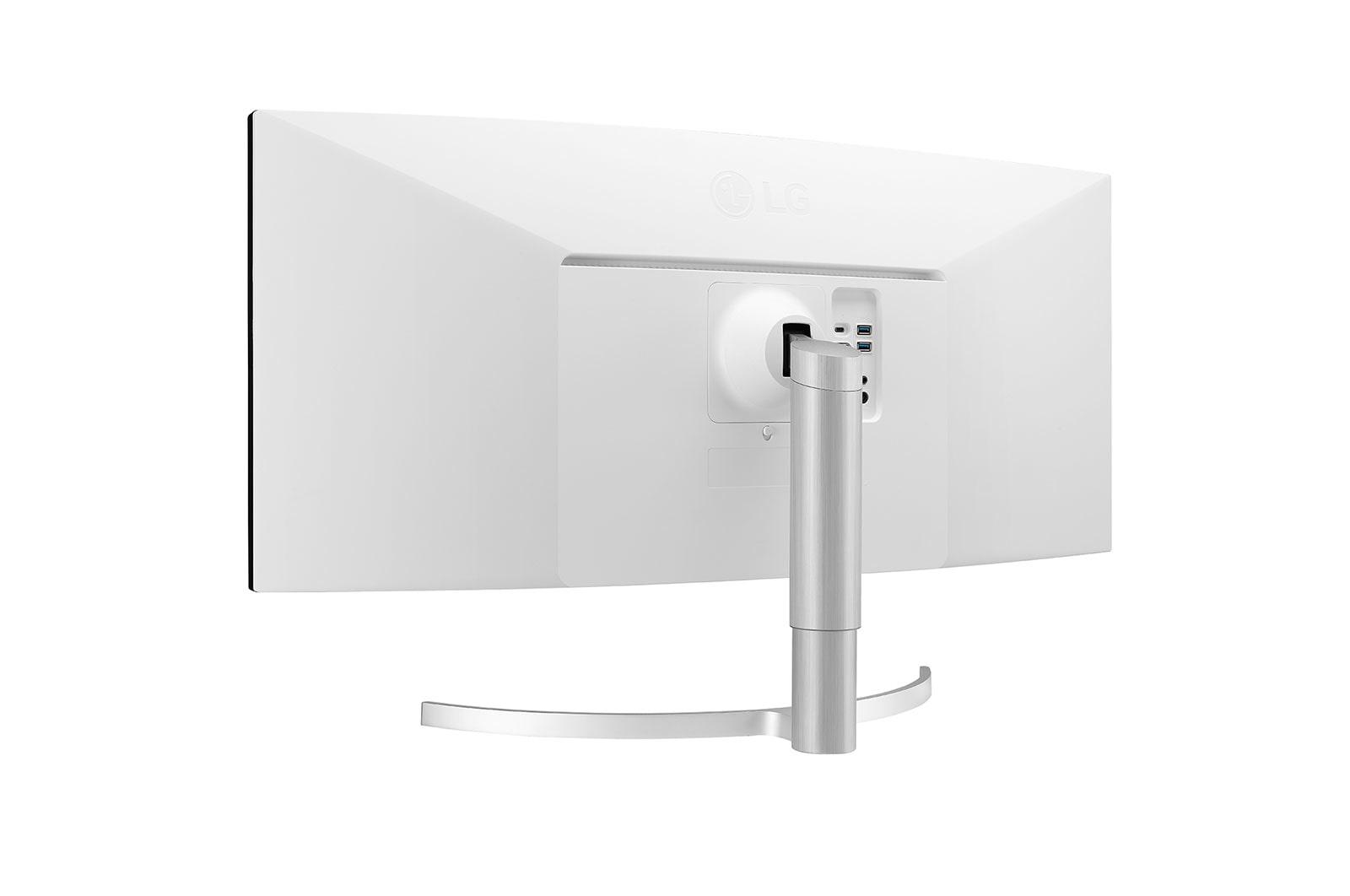 Màn hình máy tính LG UltraWide 38'' Nano IPS Cong QHD+ VESA Display HDR 600 NVIDIA G-SYNC Compatible Thunderbolt 38WN95C-W - Hàng chính hãng