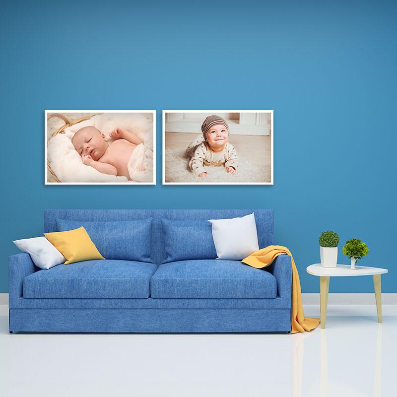 Bộ 2 tranh treo tường hình trẻ em W1951