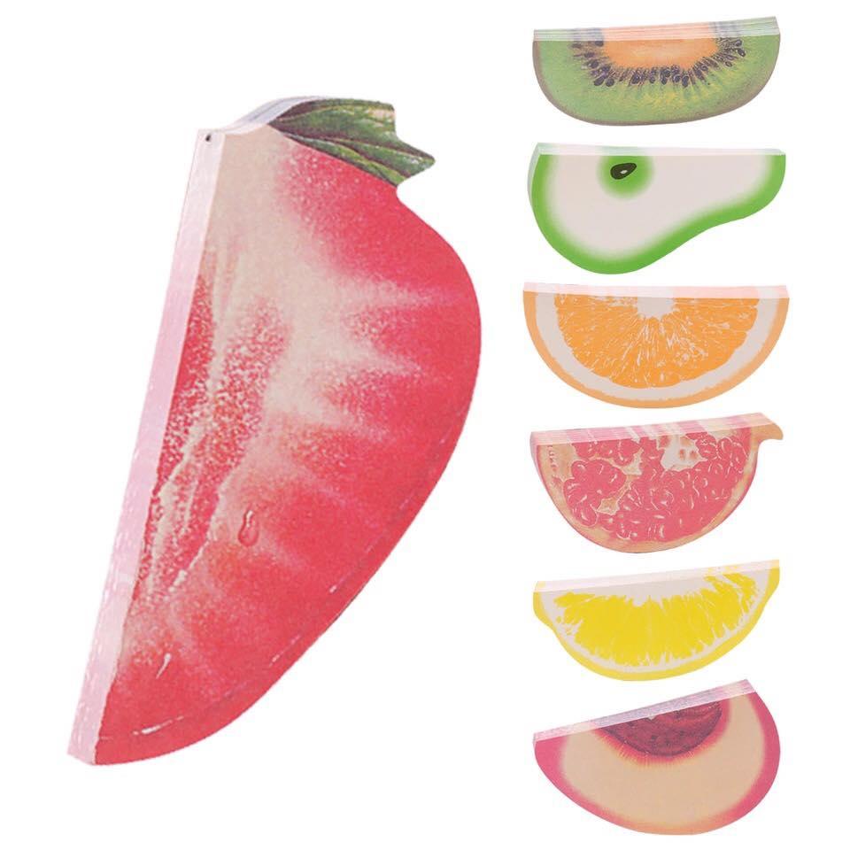 Combo 4 tập note hoa quả