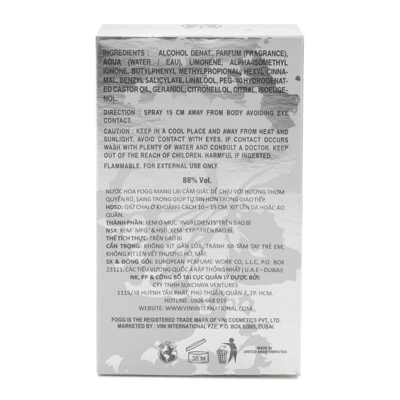 Nước Hoa FOGG FLORA 15ML (Unisex)