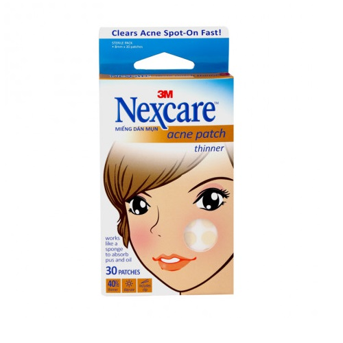 Miếng dán hỗ trợ mụn 3M Nexcare 30 miếng/hộp