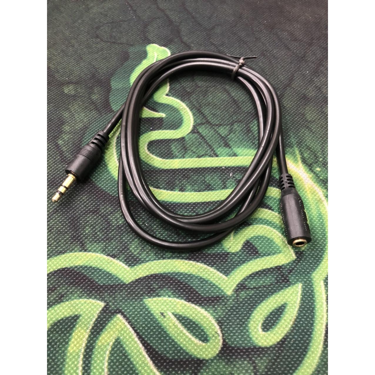 Dây nối dài loa-tai nghe dài 1.5 mét đen