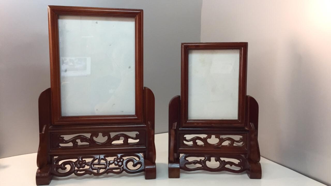 Khung ảnh thờ - gỗ hương 100% - nhiều kích thước