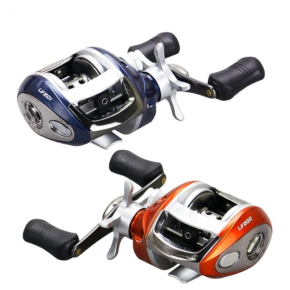 Cần câu cá lure - Kèm máy kim loại - Màu xanh carbon 2m4 - Tặng 1 đốt cần + 1 hộp cước BCL07