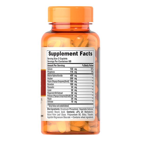 Thực Phẩm Chức Năng - Bộ 2 Viên Uống Hỗn Hợp Men Tiêu Hóa Puritan'S Pride Multi Enzyme Formula (60 Viên)