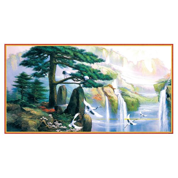 Tranh Treo Phong Thủy Q12K-ZTH(292)