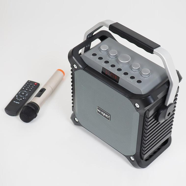 Loa bluetooth không dây Karaoke kèm Mic W-king K3 - Hàng Chính hãng