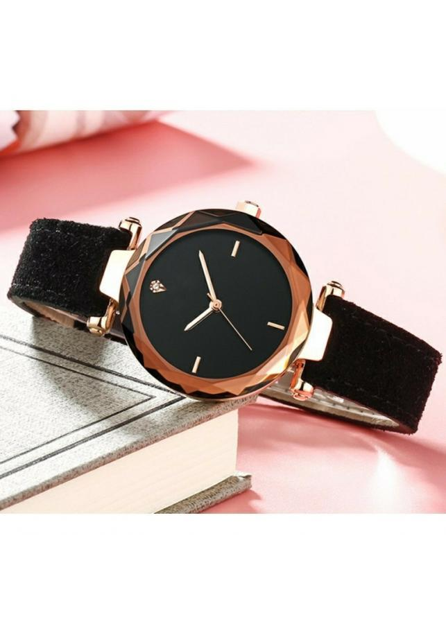 Đồng hồ nữ dây da lộn EL0024
