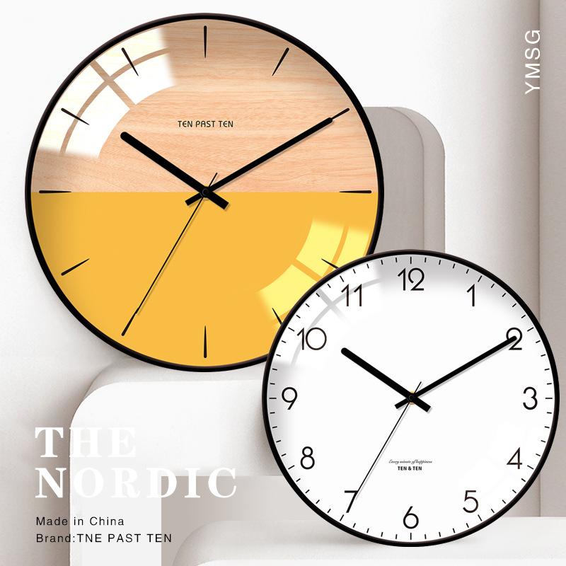 Đồng hồ treo tường hiện đại nghệ thuật Bắc Âu- Mẫu 4
