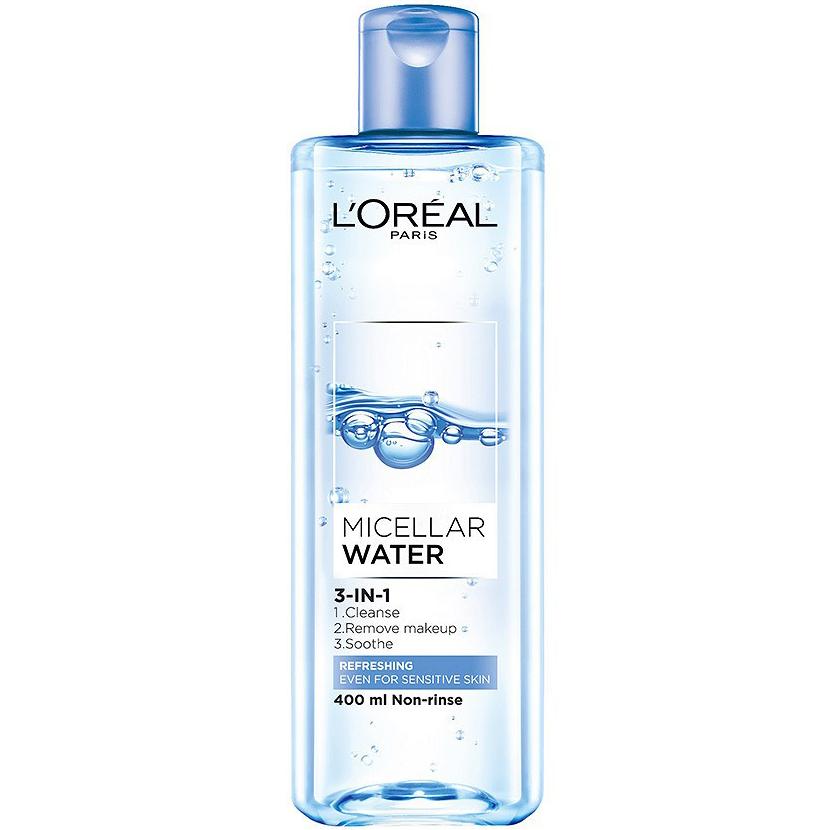 Nước tẩy trang Loreal Micellar Water 3-in-1 Refreshing Even For Sensitive  Skin | Tiki.vn