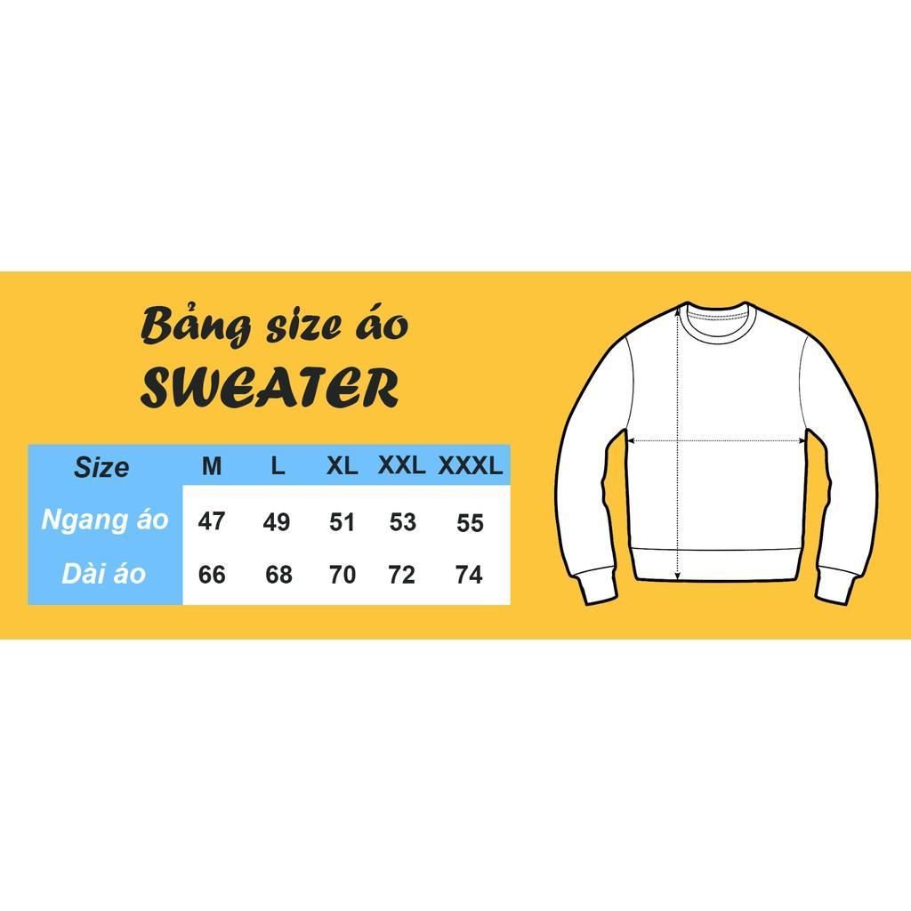Áo sweater nỉ bông tay dài NE423
