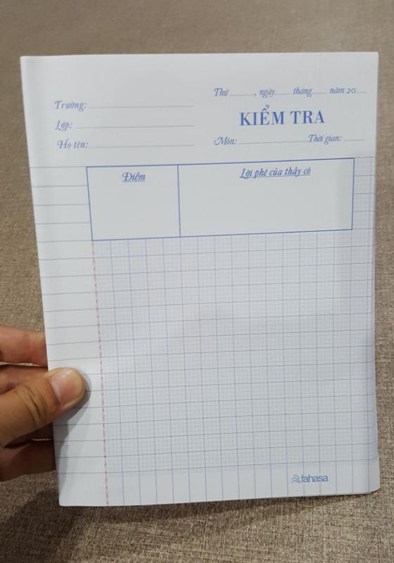 Bộ 3 Túi Giấy Kiểm Tra 4 Ô Ly (15.5x20.5 cm)