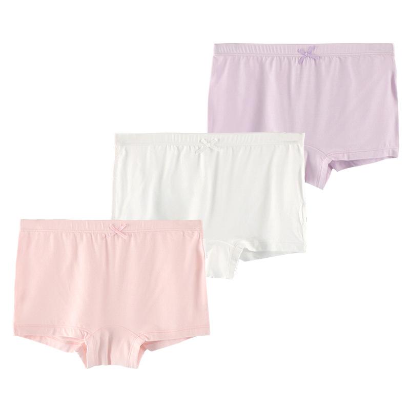 Hộp 3 quần lót cho bé gái chất liệu sợi Modal ( sợi sồi)