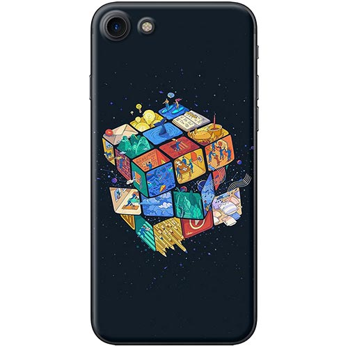 Ốp Lưng Hình Rubik Dành Cho iPhone 7  8