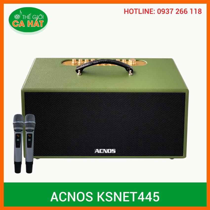LOA Di Động ACNOS KSNet445 -HÀNG CHÍNH HÃNG