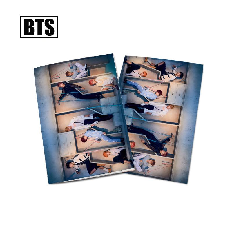 Bộ 10 vở BTS IDOL Notebook A5