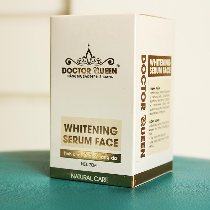 Tinh chất dưỡng sáng da Doctor Queen Whitening Serum Face 20ml