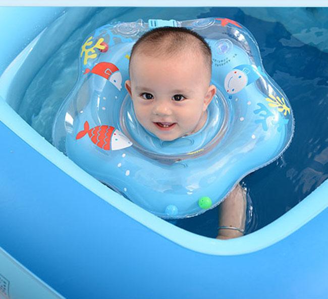 Phao Bơi Đỡ Cổ Chống Lật Cho Bé Màu Sắc Ngộ Nghĩnh PB01