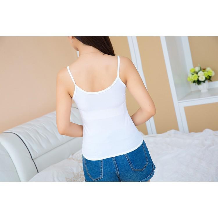 Áo 2 dây cotton thời trang, mềm, mát