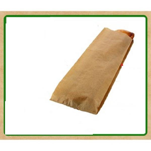Túi bánh mì nâu trơn thùng  500 cái
