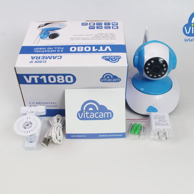 Camera Vitacam VT1080 + thẻ nhớ 32g– Hàng Chính Hãng