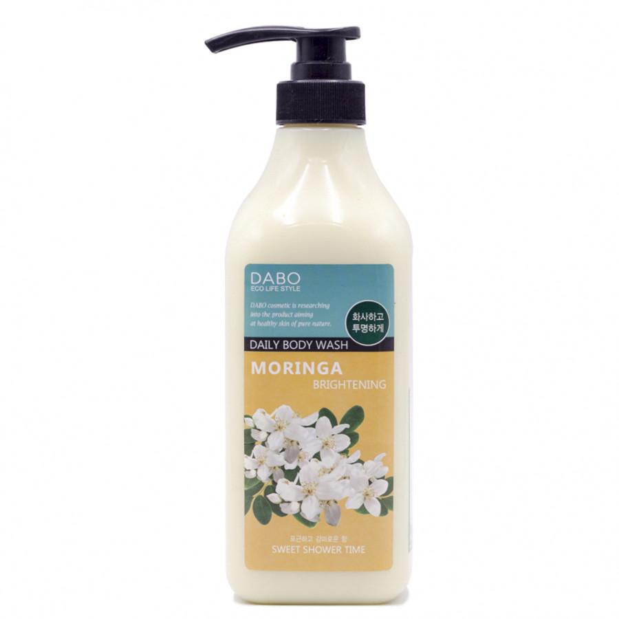 Sữa tắm hương nước hoa cao cấp sáng da Hàn Quốc Dabo Moriga (750ml) Tinh chất hoa Chùm Ngây