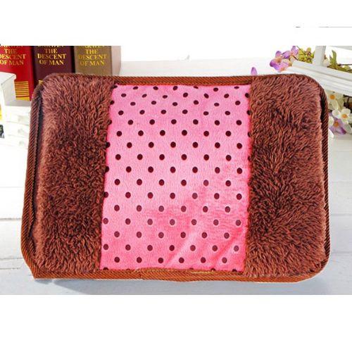 Túi Sưởi Ấm Tay Họa Tiết Chấm bi hồng Đa Năng (1 Sản Phẩm)- Dùng Điện  - Màu Hồng - Mẫu TST0135