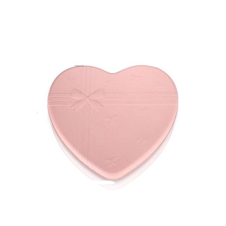 Hộp mứt hình trái tim lúa mạch 5 ngăn ( giao màu ngẫu nhiên )