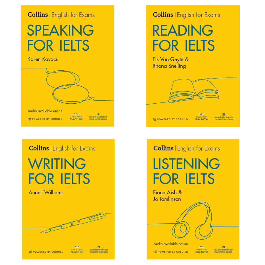 Combo Collins For IELTS – 2nd Edition: Writing, Reading, Listening, Speaking (Kèm CD)