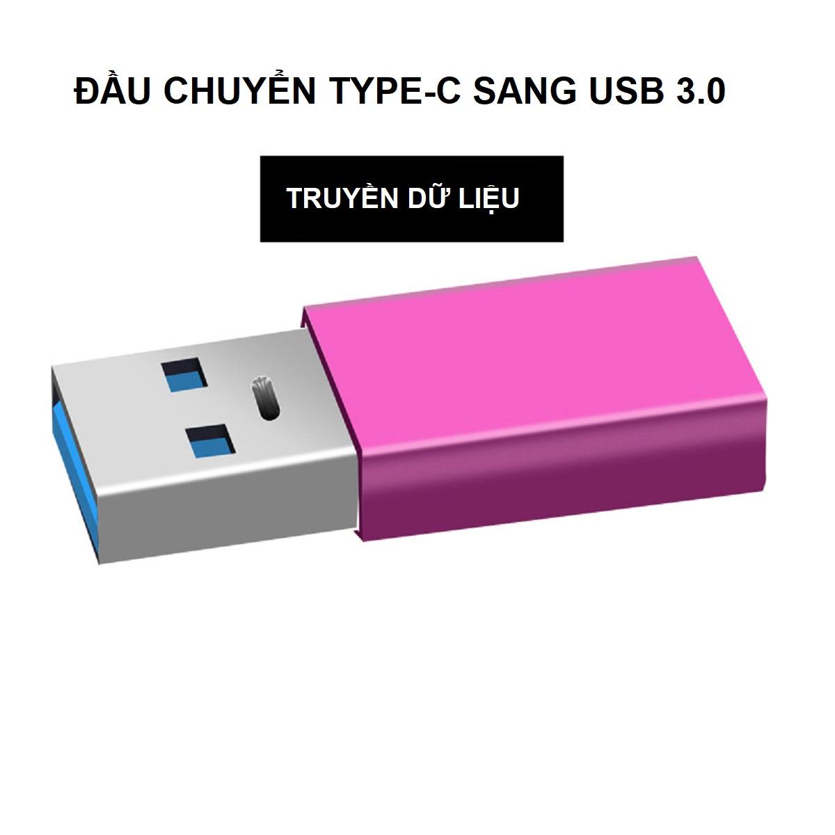 Đầu Chuyển Đổi USB 3.0 Sang USB Type C