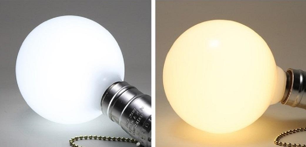 Bộ 20 bóng đèn Led thủy tinh đục G80 7w đui E27 hàng chính hãng.