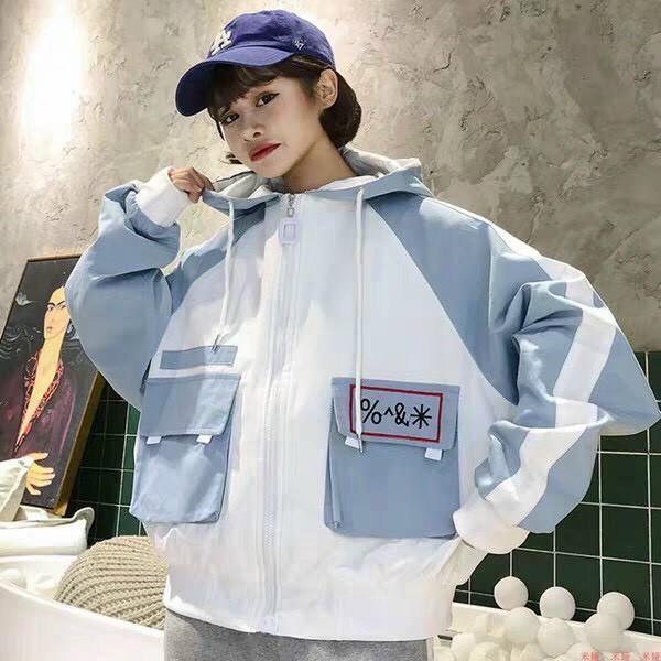 áo khoác dù nữ thời trang HĐT1