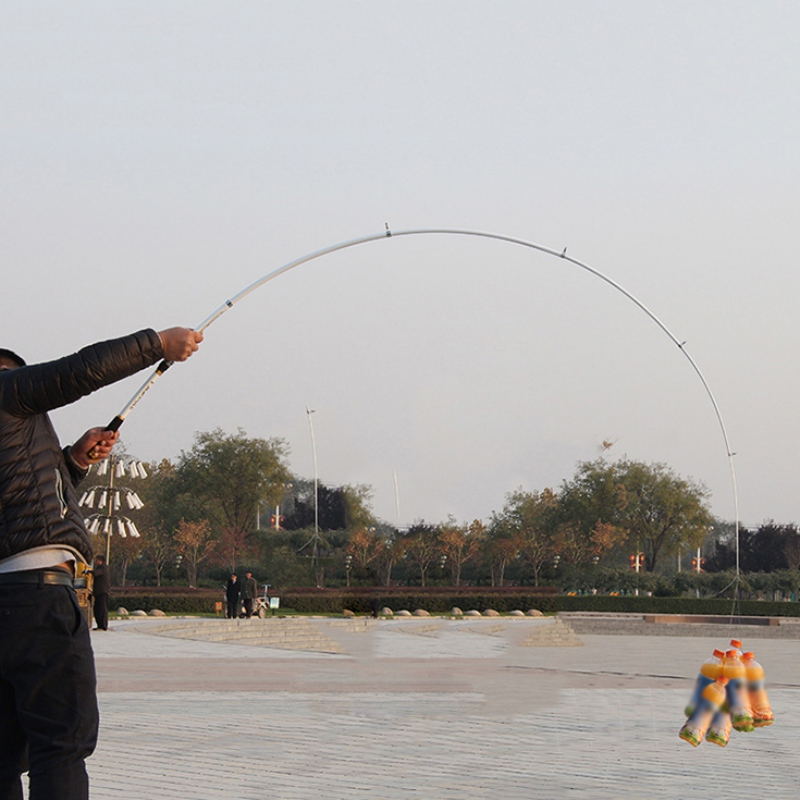Cần câu cá  - Cần máy carbon cao cấp - Tặng kèm cước simano 100m CMH01