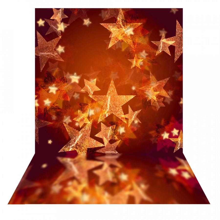 Andoer 1.5  2m Photography Background Backdrop Digital Printing Christmas Golden Star Pattern for Photo Studio Pattern 19