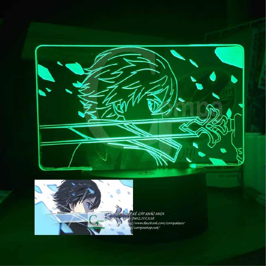 Đèn Ngủ Sword Art Online Kirito Type 03, đèn led 3d, quà tặng độc đáo, quà sinh nhật