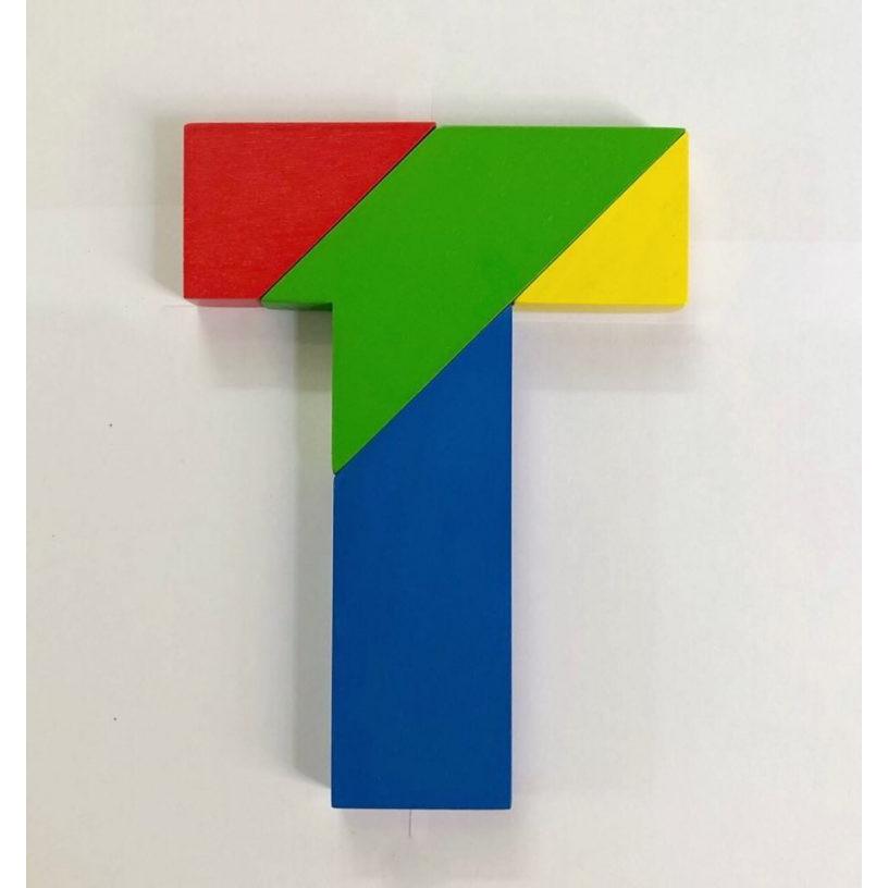 Xếp gỗ chữ T (Tangram T)