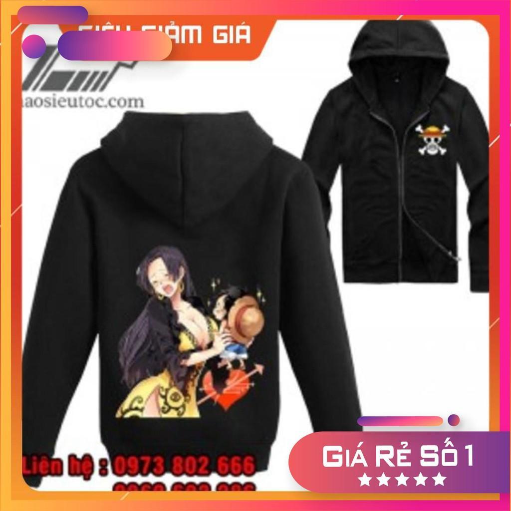 Áo khoác đen One Piece Boa Hancock đẹp nhất  rẻ chất lượng