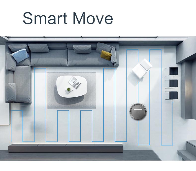 Robot hút bụi lau nhà thông minh