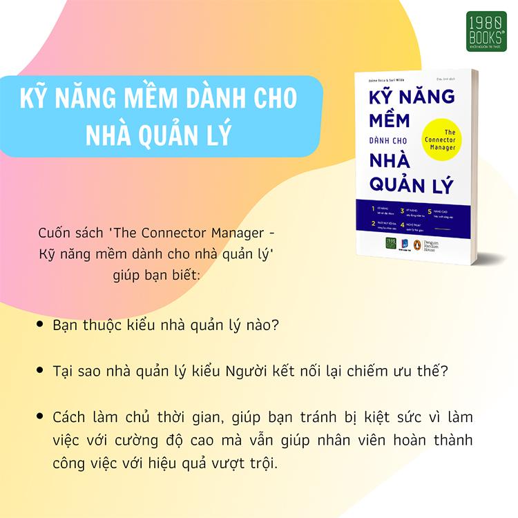 The Conector Manager - Kỹ Năng Mềm Dành Cho Nhà Quản Lý